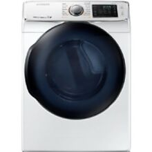 Samsung White Electric Steam Dryer