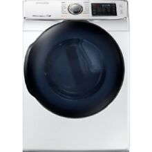 Samsung White Gas Steam Dryer