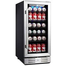 15 Beverage Refrigerators Cooler 96 Can Built in Single Zone Touch Control