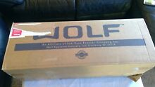 Wolf Pro Hood Stainless Steel Duct Cover Model 810717 NEW