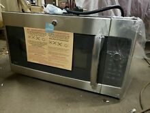 GE 1 7 Cu Over the Range Microwave Oven with Advantium Technology in Steel 240 V