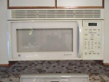 PICK UP ONLY  GE OVER RANGE MICROWAVE OVEN  SPACEMAKER   PICK UP ONLY