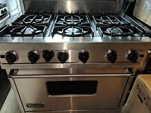 VIKING PROFESSIONAL SERIES VGIC3656BSS36 IN PRO STYLE GAS RANGE STAINLESS