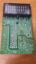 GE Microwave Electronic Control Board Part WB27X11158 Samsung DE92 02446A