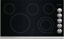 Frigidaire Gallery 36  Stainless Steel Electric Smoothtop Cooktop FGEC3645PS