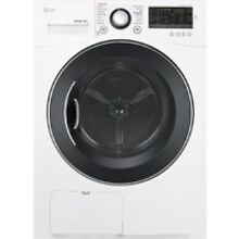 LG White Ventless Electric Dryer