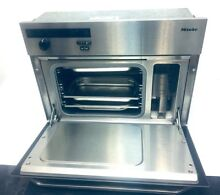 Miele DG 155 Stainless Steel Steam Oven 23  1 2  inc Width  Height 18 inches