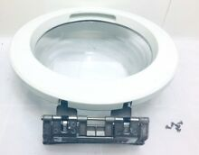 LG Tromm Washing Machine Model WM2077CW Front Door Assembly