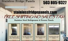 Sub Zero Stainless Steel Panels models 501   601  695
