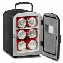 Curtis Igloo Portable Mini Retro Beverage Refrigerator or Warmer Black MIS129 B
