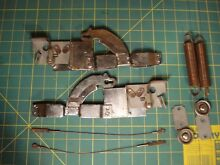 USED 14 19 150 14 19 914  14 11 607 THERMADOR OVEN DOOR CABLE AND HINGE KIT