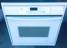 Whirlpool Self Cleaning Oven Model RBS305PDQ16 Digital Display