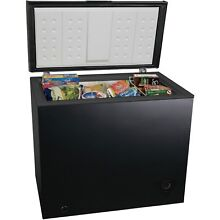 Best 7 Cubic Foot Chest Freezer Upright Compact Food Storage Fridge Black
