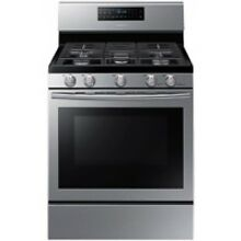 Samsung 5 8 Cu Ft Stainless Steel Free Standing Gas Range