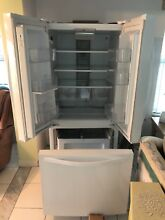 Whirlpool WRF560SMYW 19 6 cu  ft  French Door Refrigerator  11 months old