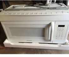FRIGIDAIRE FFMV162LW Microwave  Over the Range  Local Pick Up