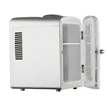 Smad Thermoelectric Cooler and Warmer Camping Fridge 4 L Sliver