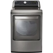 LG Graphite Steel Super Capacity Gas Dryer