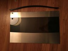 Thermador RDDS30 Oven door front and handle  stainless and glass