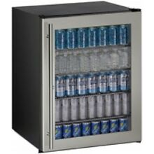 U Line 24  Stainless Steel Compact Refrigerator