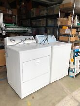USED Kenmore washer and Whirlpool dryer  both white  local pickup only
