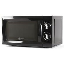 Counter Top Rotary Microwave Oven 0 6 Cubic Feet  600 Watt  Black  WCM660B by We