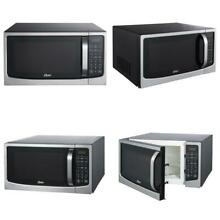 Oster Design For Life 1 6 Cu  Ft  Digital Microwave Oven With Sensor Cooking