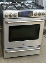 GE Cafe Series 30  Free Standing Stainless steel Gas Range with Baking
