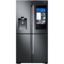Samsung Stainless Steel Counter Depth 4 Door Flex Refrigerator With Family Hub