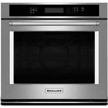 KitchenAid 30  Stainless Steel Single Wall Oven