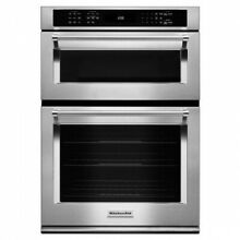 KitchenAid 30  Stainless Steel Built In Microwave Combination Oven
