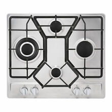 24  Stainless Steel 4 Italy Imported Sabaf Burners Gas Stove Tops Gas