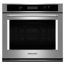 KitchenAid 27  Stainless Steel Electric Single Wall Oven