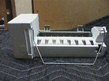 Whirlpool Ice Maker Assembly with Wire Harness W10632400 ICEMAKER ONLY NO VALVE