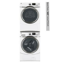 GE Electric Front Load  STEAM  Washer   Dryer Combo 28  Stack able High Capacity