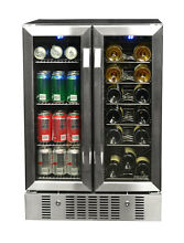 NEW Wine and Beverage Cooler Built in Compressor 18 Bottles 60 cans