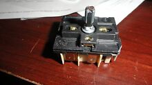 Whirlpool W1039174 Range surfac element control switch also Switch Inf AP5325211