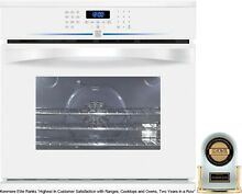 Kenmore Elite 48082 30  Electric Self Clean Convection Single Wall Oven    White