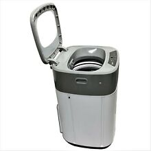 1 0 cu ft Top Load Washing Machine 6 Automatic Cycles White built in LED Display