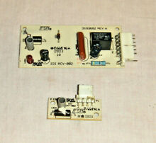 Kenmore Side by Side Refrigerator  Ice Maker Optic Board Set  2255114  2220398