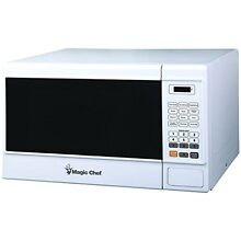 Magic Chef Mcm1310w 1 3 cubic Ft Countertop Microwave  white
