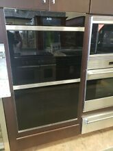 DO30CMB WOLF 30  CONTEMPORARY DOUBLE WALL OVEN  BLACK DISPLAY