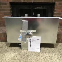 GE 36  Stainless Steel Telescoping Downdraft Range Hood  NEW LOCAL PICK UP ONLY
