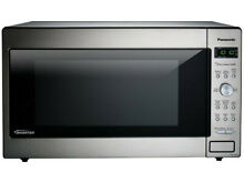 Panasonic NN SD945S Microwave Oven   Countertop   Stainless Steel  Silver