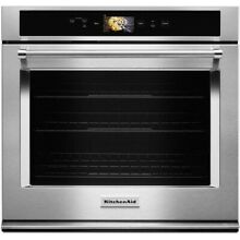 KitchenAid Smart Oven  30  Stainless Steel Single Convection Wall Oven