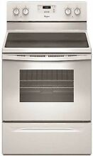 Whirlpool WFE320M0ES Smooth Surface 4 8 cu ft Freestanding Electric Range