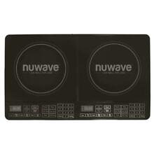 NUWAVE 25 in  Double Precision Induction Cooktop in Black