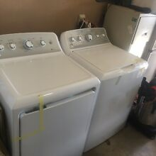 G E WASHER AND DRYER BRAND NEW
