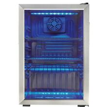 Danby 95 Can Free Standing Beverage Cooler Refrigerator Glass Door 2 6 Cu Ft