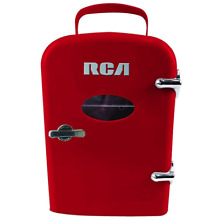 RCA Mini Compact Refrigerator   Red RMIS129 RED